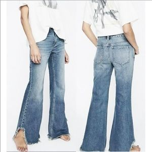 We The Free flared jeans with frayed hem NEW!